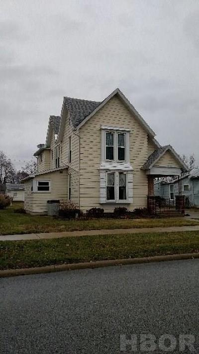 Findlay Single Family Home For Sale: 224 Locust St