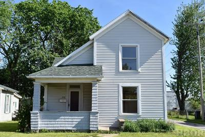 Findlay OH Single Family Home For Sale: $84,900