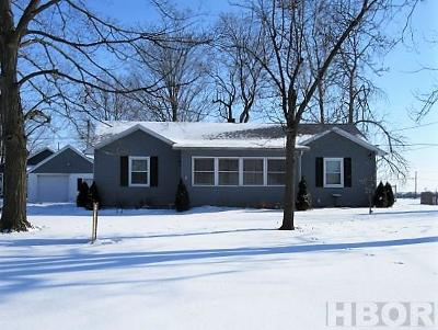 Findlay OH Single Family Home For Sale: $107,900