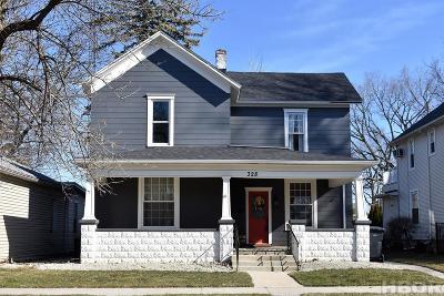 Findlay Single Family Home For Sale: 328 E Hardin