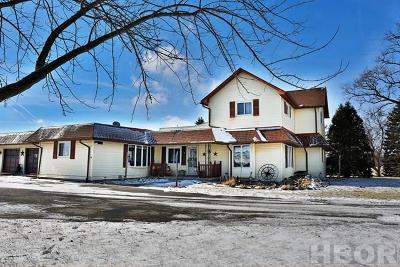 Van Buren Single Family Home For Sale: 9369 Township Rd 113
