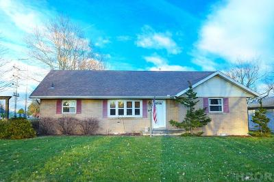 Findlay OH Single Family Home For Sale: $149,900