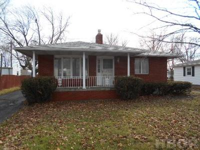 Findlay Single Family Home For Sale: 429 Monroe Ave