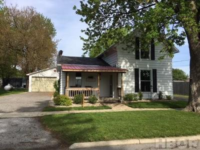 Rawson Single Family Home For Sale: 218 N Main St.
