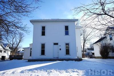 Fostoria Single Family Home For Sale: 551 W Fremont St
