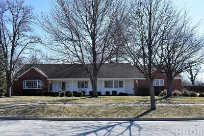 Findlay OH Single Family Home For Sale: $274,900