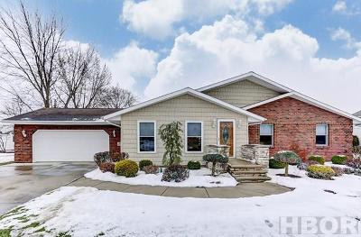 Findlay OH Single Family Home For Sale: $259,900