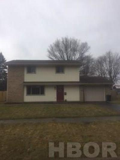 Findlay OH Single Family Home For Sale: $167,000