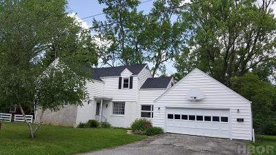 Findlay OH Single Family Home For Sale: $132,900
