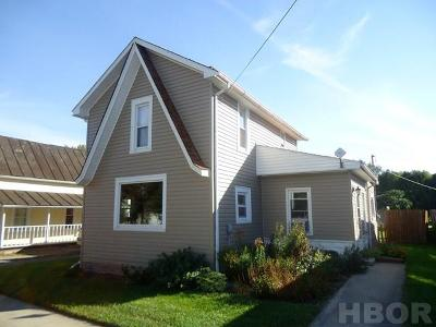 McComb OH Single Family Home For Sale: $98,500