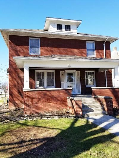 Fostoria Single Family Home For Sale: 361 Perry