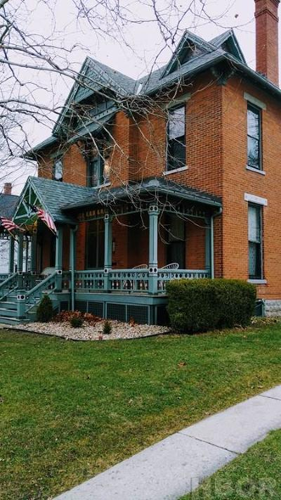 Tiffin OH Single Family Home For Sale: $275,000