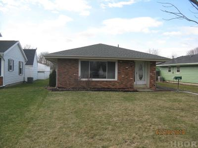 Fostoria Single Family Home For Sale: 1105 S Main St.