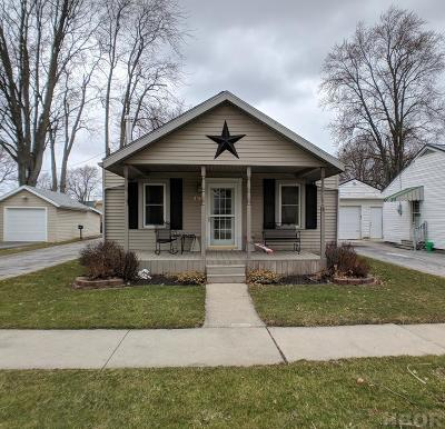 McComb OH Single Family Home For Sale: $95,000