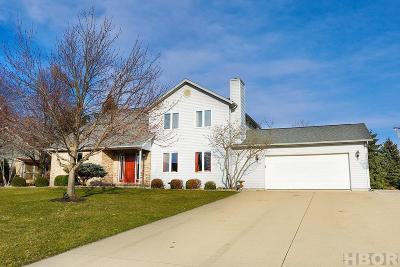 Findlay Single Family Home For Sale: 3115 Saddlebrook Dr
