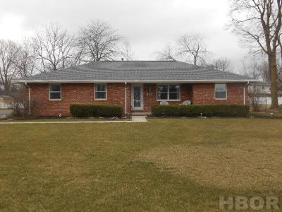 Findlay Single Family Home For Sale: 341 Bright Rd