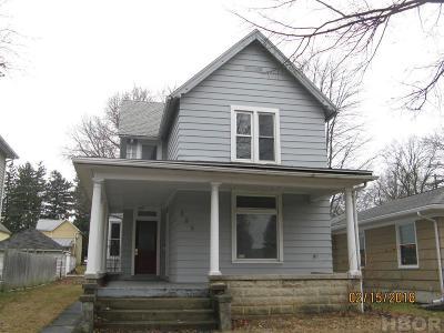 Tiffin Single Family Home For Sale: 385 N Sandusky