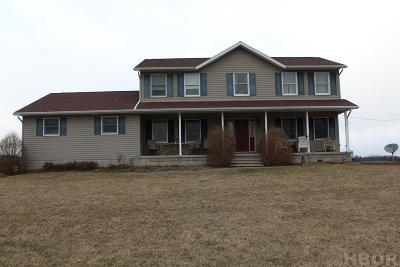 Mt Blanchard Single Family Home For Sale: 18150 County Rd. 273