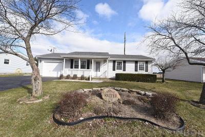 McComb Single Family Home For Sale: 124 N Meadow Dr