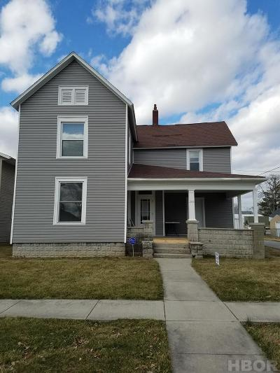 Findlay Single Family Home For Sale: 208 Madison