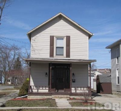 Findlay OH Single Family Home For Sale: $96,900