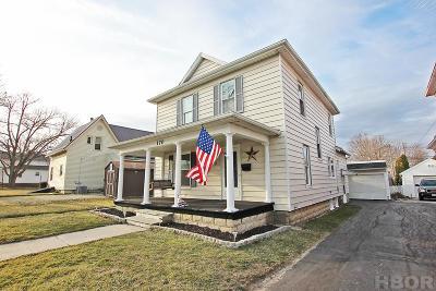 Fostoria Single Family Home For Sale: 170 Elm St