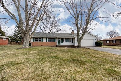 Findlay OH Single Family Home For Sale: $124,000
