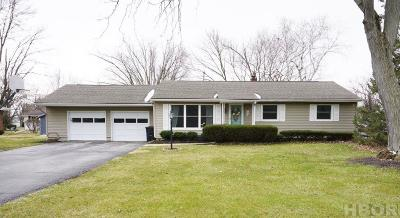 Findlay OH Single Family Home For Sale: $142,900