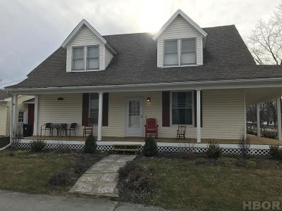 McComb Single Family Home For Sale: 415 W South St