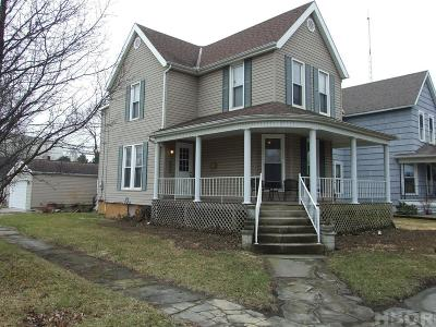 Fostoria Single Family Home For Sale: 603 W Tiffin