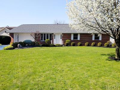 Findlay OH Single Family Home For Sale: $239,900