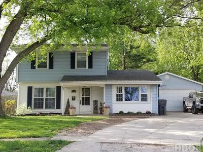 Findlay OH Single Family Home For Sale: $147,500