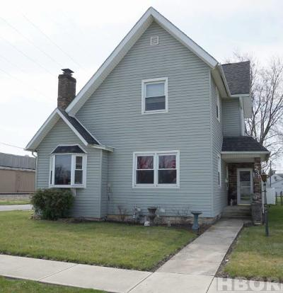 Findlay OH Single Family Home For Sale: $138,900