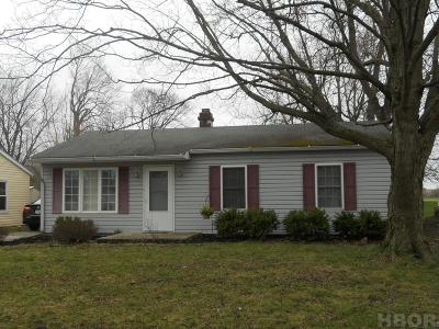 Findlay OH Single Family Home For Sale: $78,000