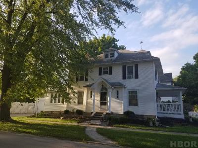 Fostoria Single Family Home For Sale: 204 W Jackson Street