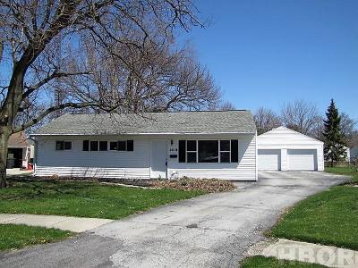 Findlay Single Family Home For Sale: 1018 Milton St