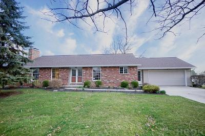 Findlay OH Single Family Home For Sale: $214,900