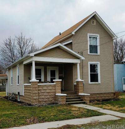 Findlay OH Single Family Home For Sale: $90,000