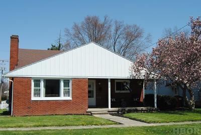 Findlay Single Family Home For Sale: 120 E Eagle St.