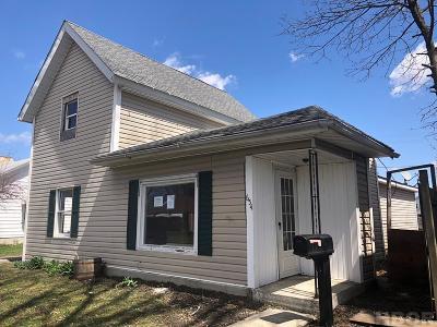 Fostoria Single Family Home For Sale: 654 Maple