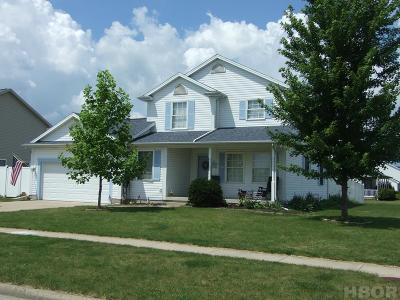 Findlay Single Family Home For Sale: 9220 Colonel