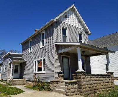 Tiffin Single Family Home For Sale: 289 N Sandusky Street