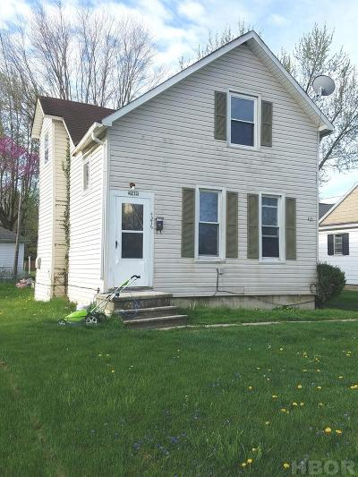 Findlay OH Multi Family Home For Sale: $65,000