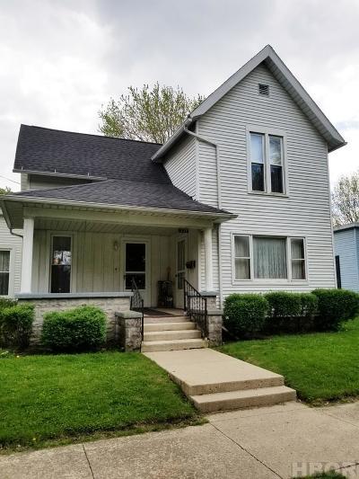 Fostoria Single Family Home For Sale: 337 W Center