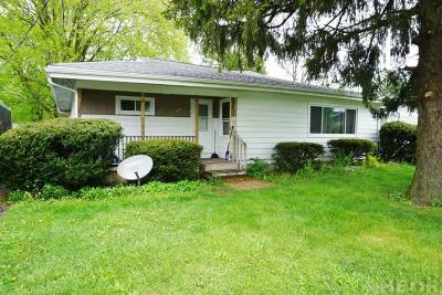 Findlay OH Single Family Home For Sale: $72,900