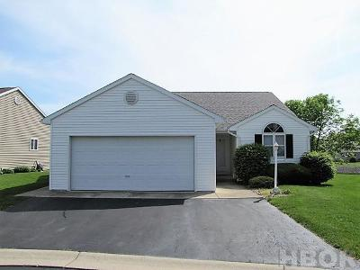 Findlay OH Condo/Townhouse For Sale: $169,900
