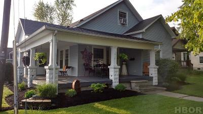 Findlay OH Single Family Home For Sale: $139,000