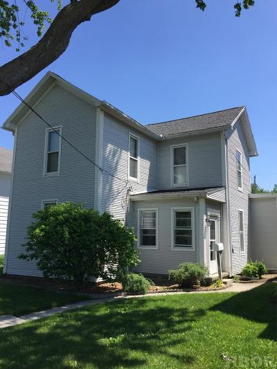 Findlay OH Single Family Home For Sale: $104,500