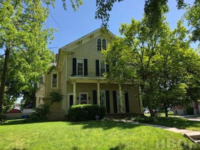 Findlay OH Single Family Home For Sale: $98,000