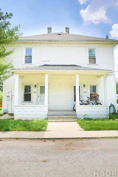 Findlay Multi Family Home For Sale: 102 Hurd Ave